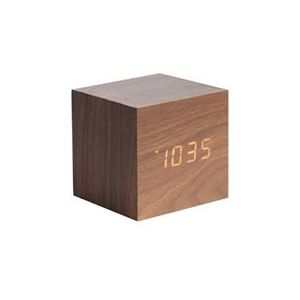 Horloge cube bois - Comparer 32 offres