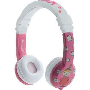 Buddyphone Little My Rose - Casque filaire pour enfant