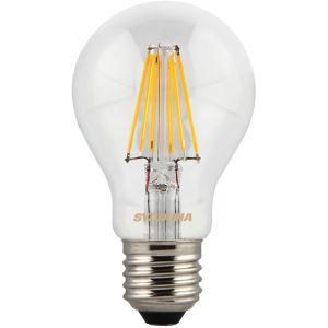 Sylvania Ampoule LED a filament Toledo Retro E27 7,5W équivalence 75W - E27 - 7,5W équivalent à 75W - Flux lumineux : 1000lm - Température de couleur : 2700K - Blanc chaud.