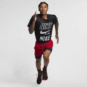 Nike Haut de runningà motifs Breathe pour Homme - Noir - Taille S - Male