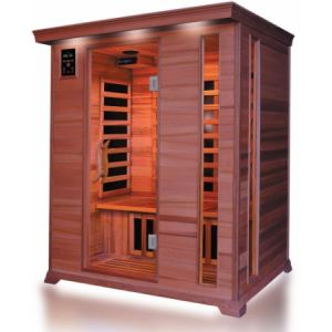 France Sauna Luxe 3 - Sauna cabine infrarouge pour 3 personnes