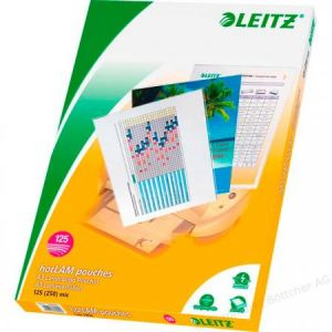 Leitz Pochette de plastification A3 brillant, 250 microns iLAM