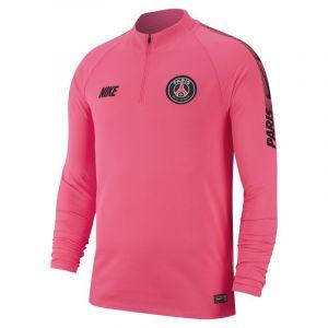 Nike Haut de footballà manches longues Paris Saint-Germain Dri-FIT Squad Drill pour Homme - Rose - Couleur Rose - Taille S