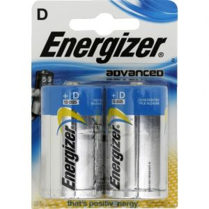 Energizer High Tech Piles D-LR20 x2