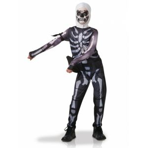Rubie's Déguisement Adolescent - Fortnite - Skull Trooper - Taille 13-14 ans