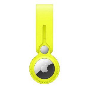 Apple Lanière en cuir AirTag Citron de Meyer