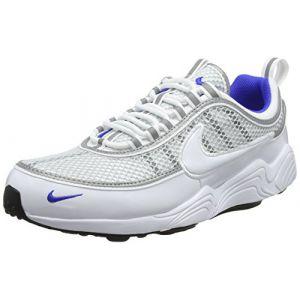 Nike Air Zoom Spiridon '16 Homme, Blanc (White/White/Pure Platinum/Racer Blue 104), 41 EU