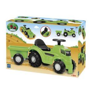 Ecoiffier Tracteur avec remorque