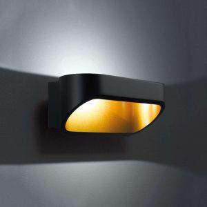 Helestra Applique LED Onno noir-doré 18 cm