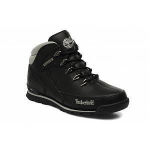 Timberland Ek Eurorockhiker, Boots homme Noir (Black), 43.5 EU (9.5 US)