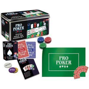 Tactic Coffret métal Pro Poker tout en 1 (200 jetons)