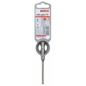 Bosch Forets SDS-plus-7X pour perforateur 5 x 50 x 115 mm - 2608576104