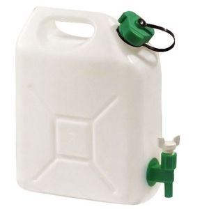 Eda Plastiques Jerrycan extra-fort avec robinet eau propre 5 litres