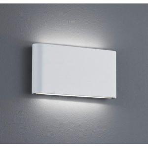 Trio 227660231 - Applique extérieure bidirectionnelle blanc en fonte d'aluminium