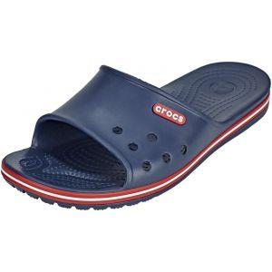 Crocs Crocband 2 Slide, Mules Mixte Adulte, Bleu (Navy/Pepper), 41-42 EU