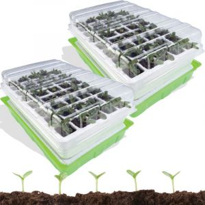 ProBache Kit de germination 40 godets lot X2