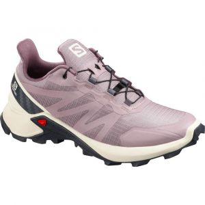 Salomon Chaussures Supercross Goretex - Quail / Vanilla Ice / India Ink - Taille EU 36 2/3