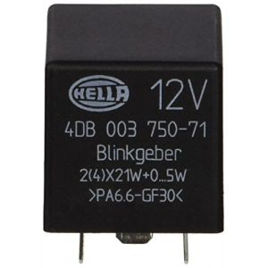 Hella 4DB 003 750-711 Centrale clignotante, 12V, électronique