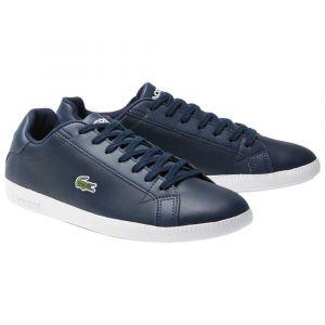 Lacoste Baskets Graduate Leather - White / Grey - EU 41