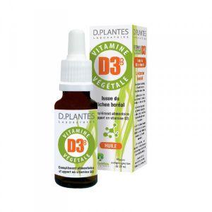 Laboratoire D.Plantes Vitamine D3++ végétale, 20ml