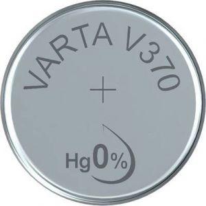 Varta Pile bouton 370 oxyde d'argent 1.55 V 30 mAh 370101111 V370