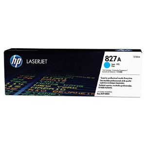 HP CF301A - Toner 827A cyan 32000 pages