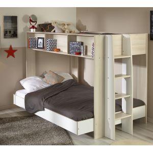 lit superposes 140 comparer 63 offres. Black Bedroom Furniture Sets. Home Design Ideas