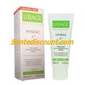 Uriage Hyséac K18 - Crème peaux grasses et pores obstrués