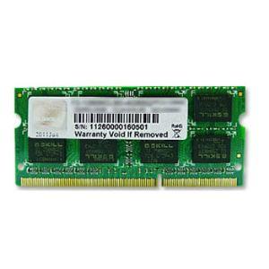 G.Skill F3-10666CL9S-8GBSQ - Barrette mémoire 8 Go DDR3 1333 MHz CL9 SoDimm 204 broches