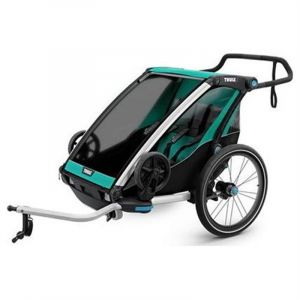 Thule Chariot Lite 2 - Remorque vélo - Bluegrass turquoise Remorques vélo enfant