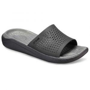 Crocs Tongs Literide Slide - Black / Slate Grey - EU 45 1/2