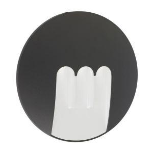 Lo Design Applique extérieure led -YAO Mask Gris anthracite fonte d'aluminium LO00011648 - fonte d'aluminium - Gris anthracite