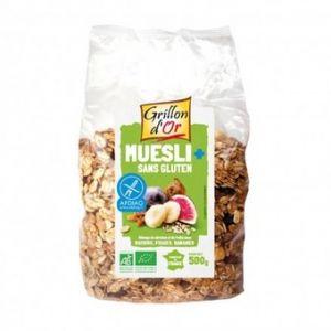 Grillon d'Or Muesli raisins, figues et bananes sans gluten (500g)