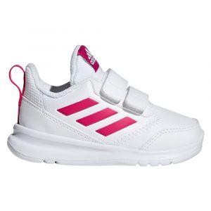 Adidas Baskets scratch Altarun Blanc Rose - Taille 20;21;22;24;25;26;27