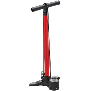 Lezyne Macro Floor Drive DV - Pompe à vélo - rouge/noir Pompes à pied