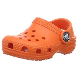 Crocs Classic Clog Kids, Mixte Enfant Sabots, Orange (Tangerine), 34-35 EU