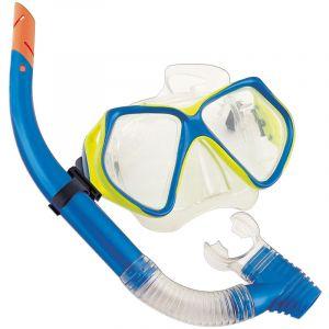 Bestway Ensemble Masque Hydro-Pro Océan Diver + Tuba Adulte - 2 Couleurs -Set de masque de plongée + tuba - Gris - Lot masque de plongée et tuba de qualité Les joies de la plongée !Découvrez les fo... Voir la présentation
