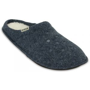 Crocs Classic Slipper, Chaussons Mixte Adulte - Bleu (Nautical Navy/Oatmeal), 41-42 EU (M7/W8 UK)