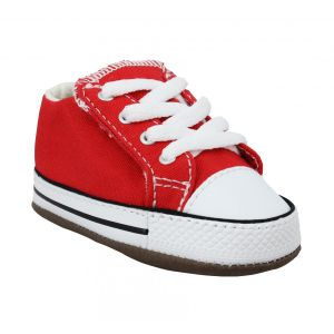 Converse Chuck Taylor All Star Cribster Mid toile Enfant-18-Rouge