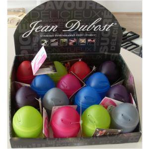 Jean Dubost 65652 - 3 cuits oeufs Micro Egg en polypropylène (6,5 cm)