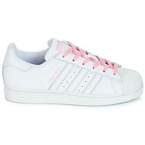 Adidas Chaussures enfant SUPERSTAR J blanc - Taille 38