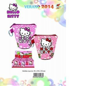 Sanrio Porte-monnaie Hello Kitty (9 x 9 cm)