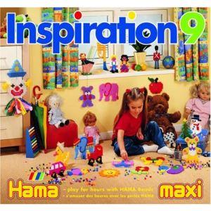 Hama Perles à repasser - Livre d'inspiration 9 : Maxi 48 pages