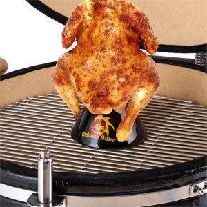 Klarstein Chicken Sitter - Support en céramique pour poulet grillé