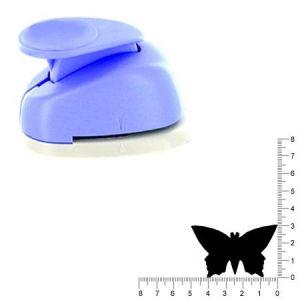 Artémio Géante perforatrice - Papillon - Env 4.5 cm
