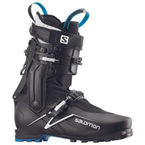 Salomon Chaussures de ski X-alp Explore - Black / White / Transcend Blue - Taille 24.5
