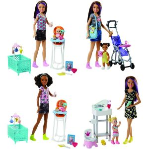 Mattel Coffret babysitter et enfant
