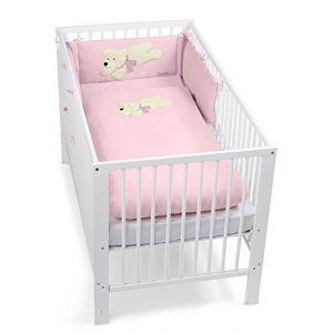 Sterntaler Parure de lit Ella avec tour de lit (100 x 135 cm)