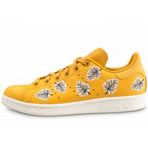 82bd4fd787150 Adidas Chaussures Stan Smith The Farm Company Jaune Femme Multicolor -  Taille 38,40,