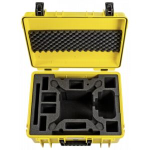 B&W International Copter étui Type 6000/Y jaune DJI Phantom 4 Pro Inlay